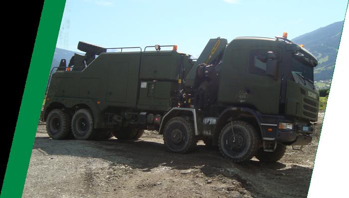 Tireboss Military Truck Tire Technology