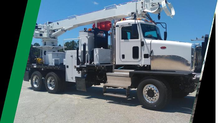 Utility Truck - Tire Pressure Control Benefit